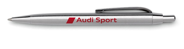 Audi Sport ballpoint pen.    Available from: http://www.m25audi.co.uk