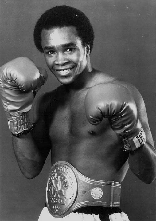 "Cyber Boxing Zone -- ""Sugar"" Ray Leonard. He was great to watch. So fast. So smart. So pretty."