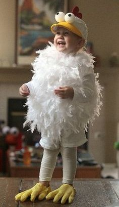 boy in chicken costume with styrofoam eyes costume - Google Search