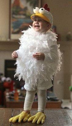 boy in chicken costume with styrofoam eyes costume - Google Search