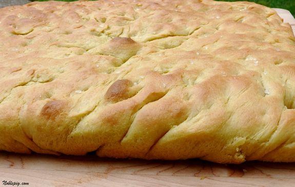 Easy, Homemade Focaccia Bread | Noble Pig