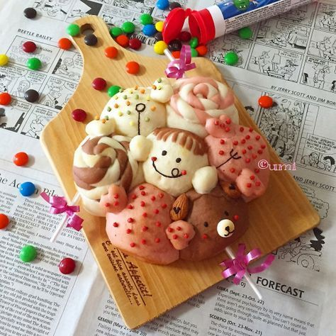 ついに登場♥ちぎりパンの進化版!『3Dちぎりパン』がすごいんです♡ マシマロ