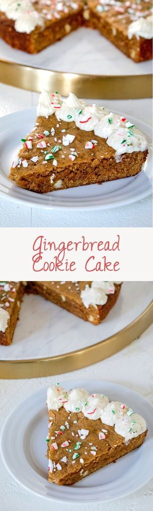 683 best desserts images on pinterest cakes healthy nutrition and ice gingerbread cookie cake solutioingenieria Gallery