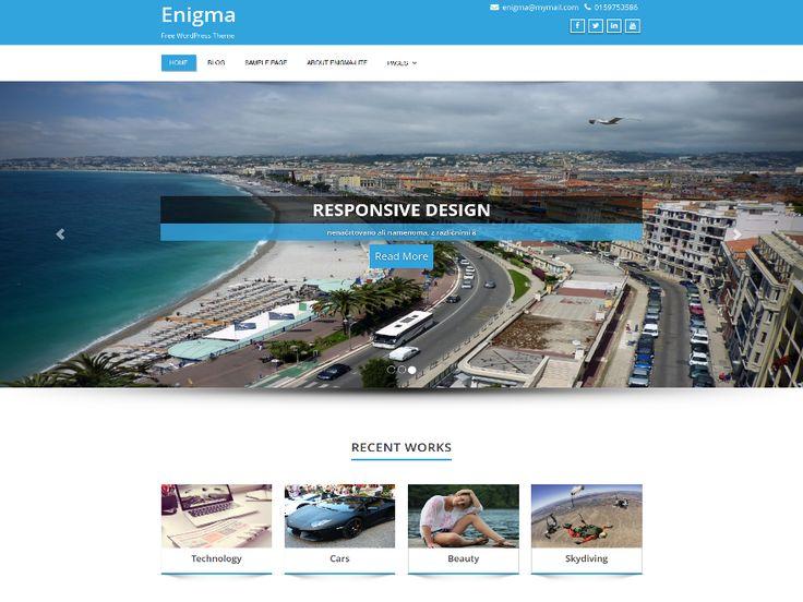 8 best Besplatne #Wordpress teme images on Pinterest | Wordpress ...