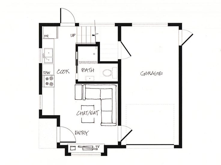 Small house plans house plans less than 500 sq ft joy for 500 sq ft home plans