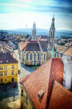 Sopron Innerstadt