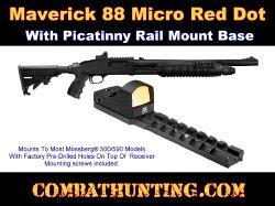 Maverick 88 Micro Red Dot Sight With Picatinny Rail Mount