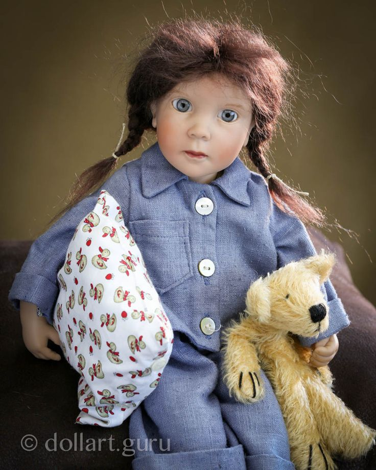Liesje. Коллекционная кукла Цвергназе (Zwergnase)
