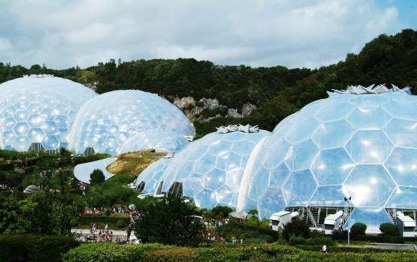 Projeto Éden (Cornualha, Inglaterra) - O nome não é por acaso. O local foi perfeitamente projetado p... - Shutterstock