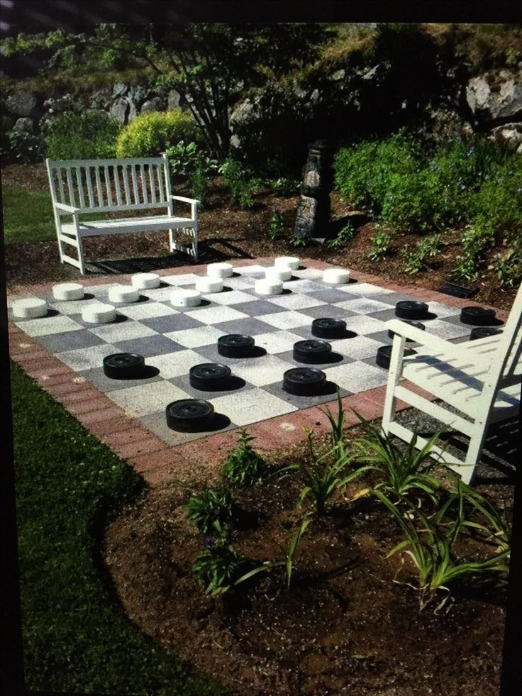 1000 Ideas About Outdoor Checkers On Pinterest