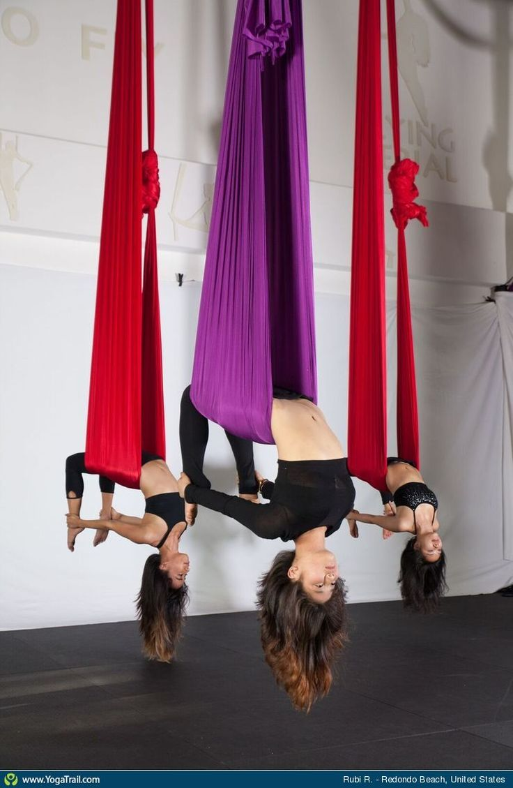 Aerial Yoga uploaded by Rubi