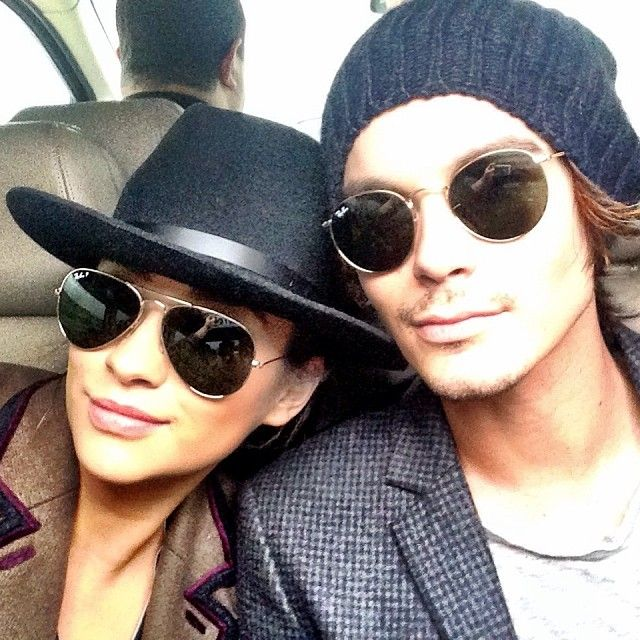 Tyler and Shay looking cool with their aviators! #vemcomprarnasoticaswanny #oticaswanny #compreonline