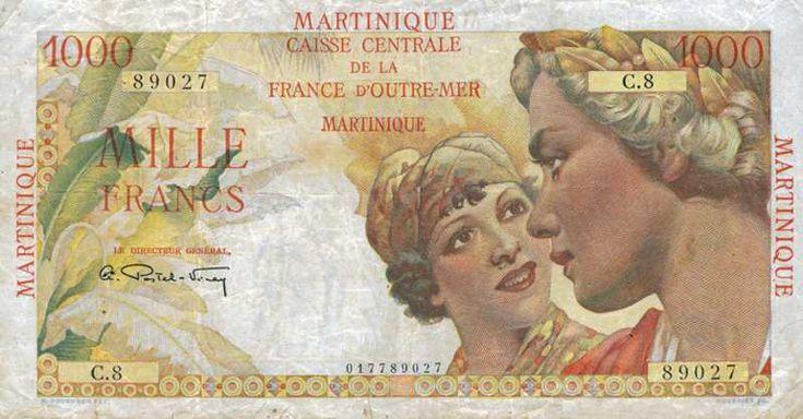 Billet de banque - Martinique - Pick 33 - 1000 francs