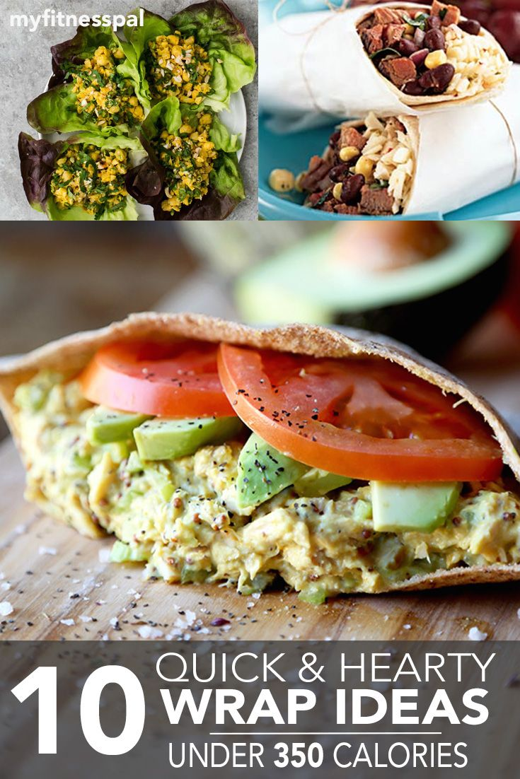 Let's face it—pretty much everything tastes better wrapped in bread (not to mention the fact that it converts any meal into one that's portable!). Sweet, savory, meaty and veggie-friendly, we've got all the wrap bases covered with these 10 simple ways to satisfy your wrap cravings, all for 350 calories or less. Dig in! 1.Tuna …