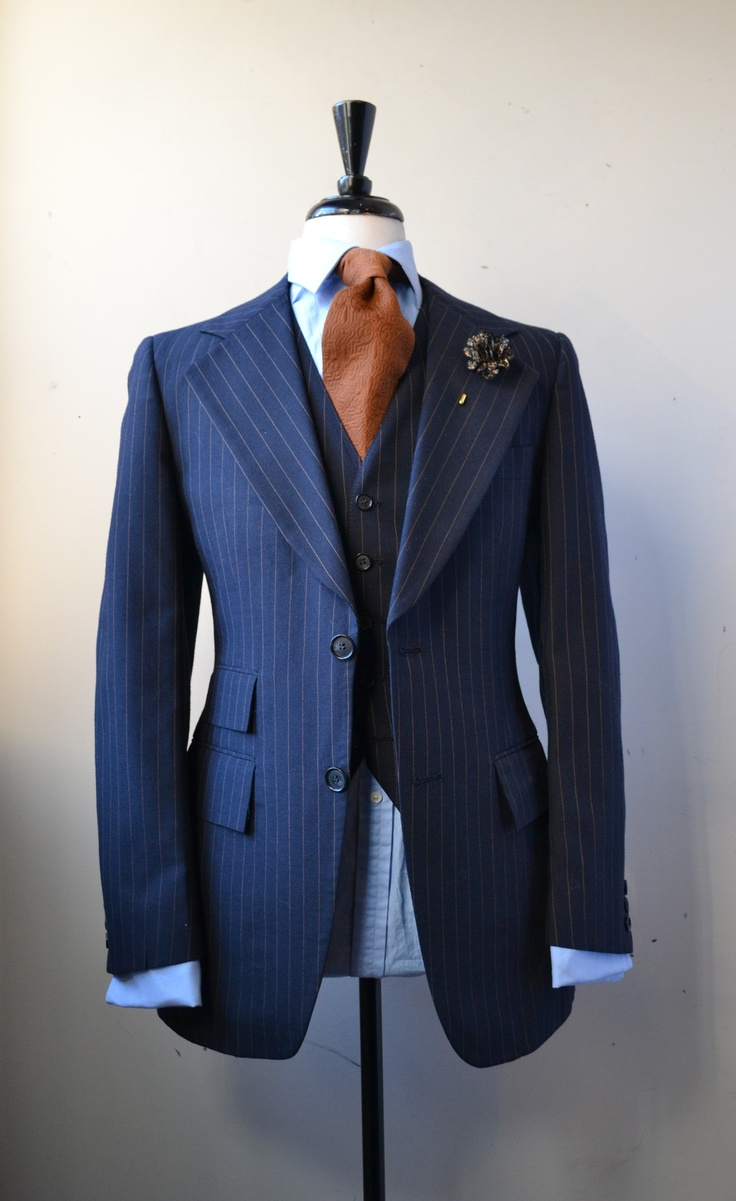vintage 20 piece pinstripe suit …   Well dressed men, Pinstripe ...