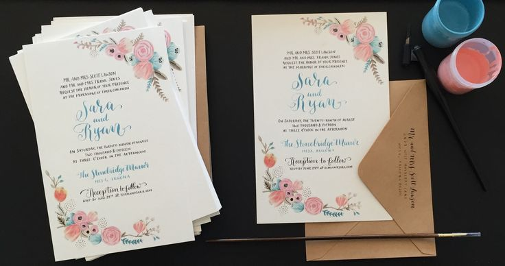 Overnight Wedding Invitations: 13 Best Invitations Images On Pinterest
