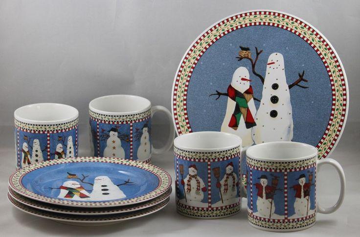 Stunning Debbie Mumm Christmas Dishes Contemporary - Best Image ...