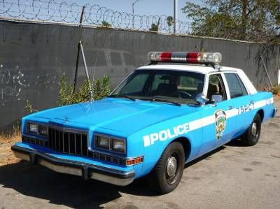 Police Vehicles - Classic Police Cars