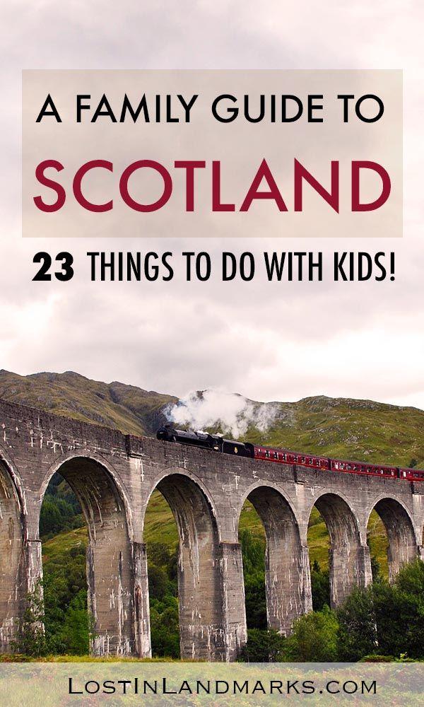 Escocia es un gran destino para unas vacaciones con niños. Aquí hay algunas cosas para …