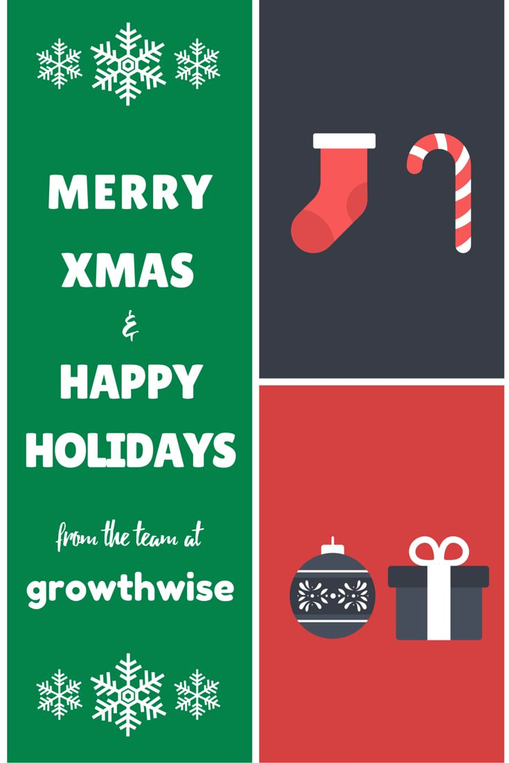 Merry Xmas from the growthwise team :)