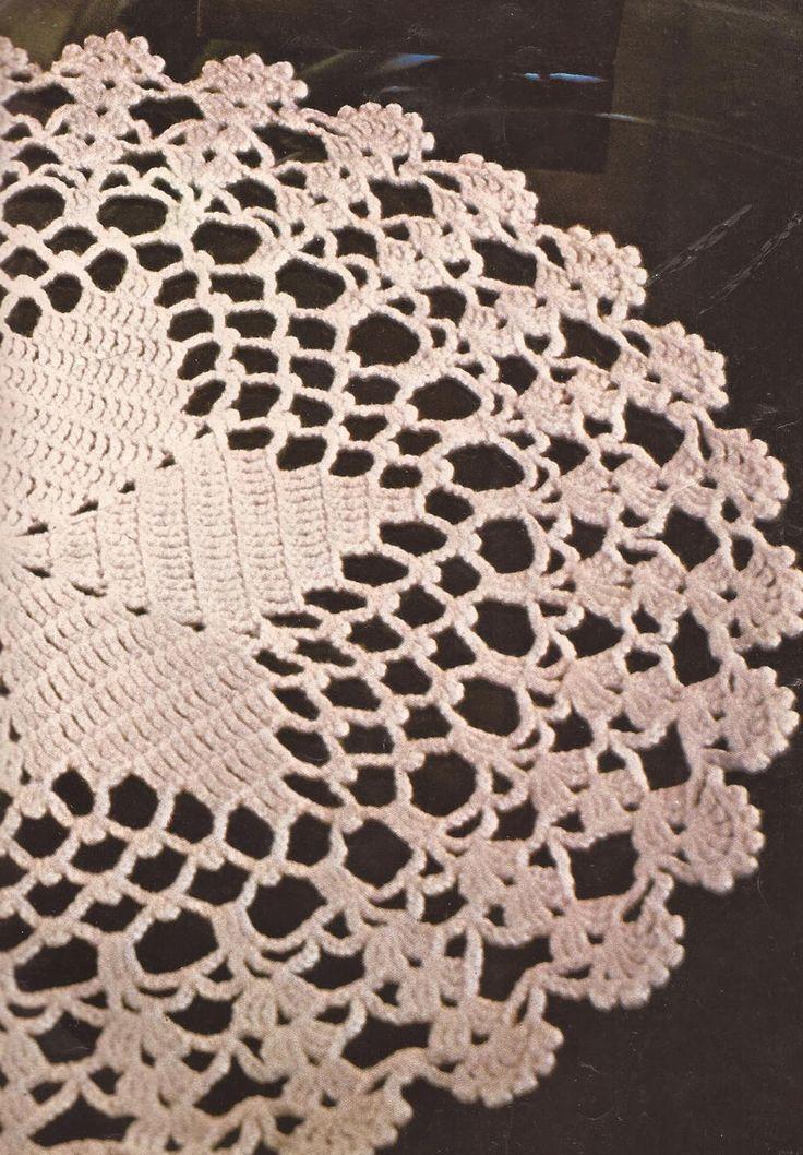 30 mejores im genes sobre centro de mesa a crochet en - Esquema punto estrella crochet ...