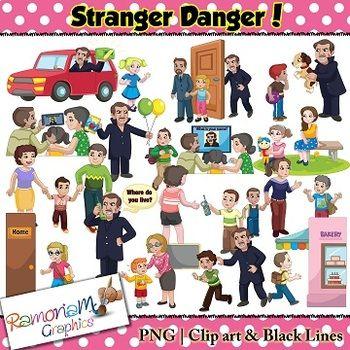 Stranger Danger Clipart