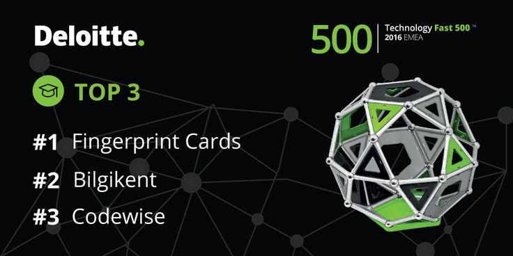 Deloitte Technology Fast 500 EMEA. Top 3. #Fast500 #Fast500EMEA #Deloitte #CE #CentralEurope #Technology #Fast #500 #EMEA