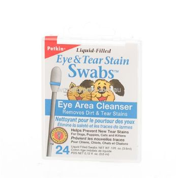 RSPCA - World for Pets - Liquid-Filled Swabs, Eye & Tear Stain