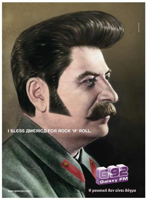 I bless America for Rock'n Roll Stalin