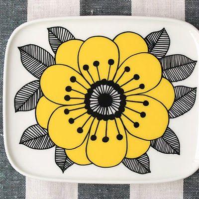 Vintage Marimekko (design by Oiva Kestit)