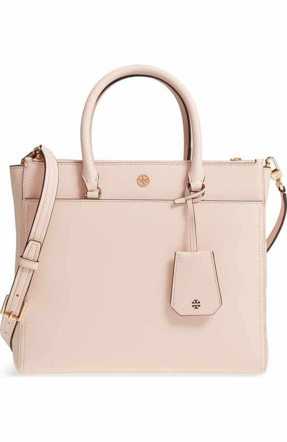 c46bfc89e2bf1e Free shipping and returns on Tory Burch McGraw Leather Tote at  Nordstrom.com. Divided