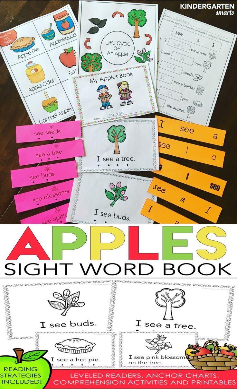 Workbooks kindergarten reading worksheets sight words : 1546 best Kindergarten Literacy* images on Pinterest | Books ...