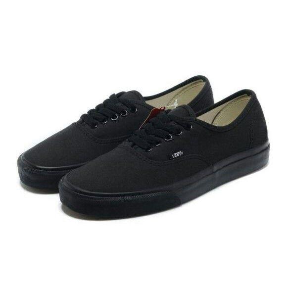 Authentic Vans (All Black)