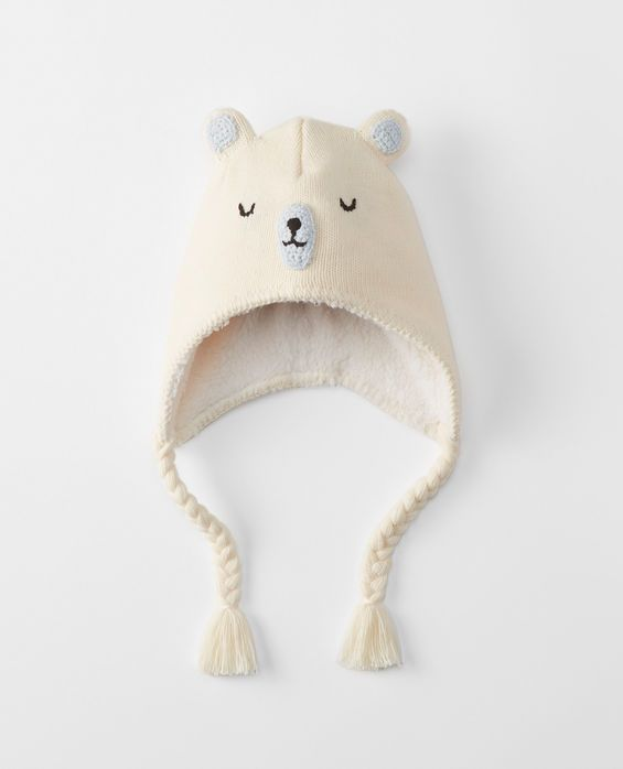 6d11a33f96c Arctic Critter Beanie in Bears - main Hanna Andersson