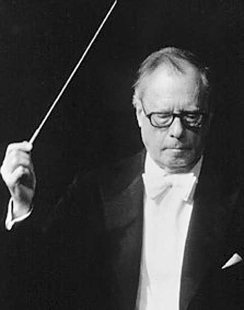 Karl Böhm (1894 -1981, Salzburg)  widely considered to be one of the greatest symphonic and operatic conductors of the 20th century.