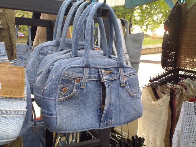 Jean Bags | Flickr - Photo Sharing!