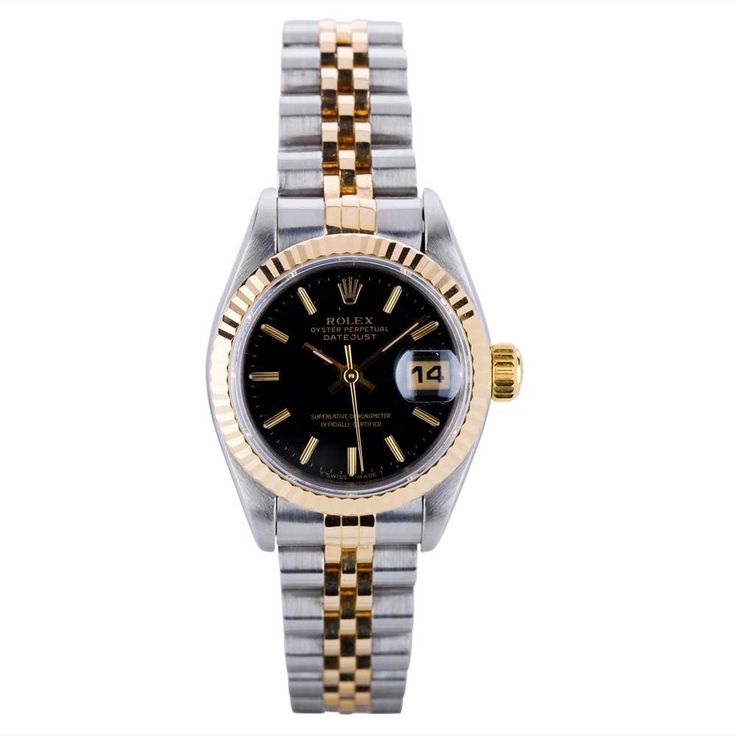 Pre-Owned Rolex Ladies Oyster Perpetual Datejust Watch 69173-8385 | T.H. Baker Family Jewellers