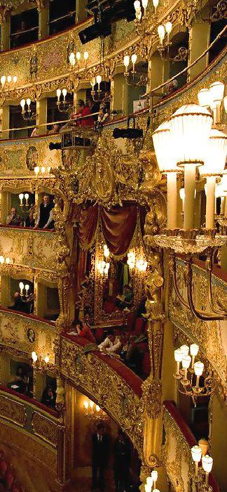 ~La Fenice Opera House - Venice, Italy | House of Beccaria