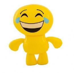 Inflatable Emoji Man Toy | Cyring with Laughter Emoticon
