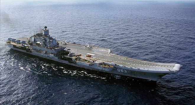 YENİ DÜNYA GÜNDEMİ ///  ´İngiliz donanması, Rus uçak gemisi Amiral Kuznetsov´u bekliyor´