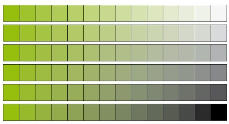 Colores neutros verdes