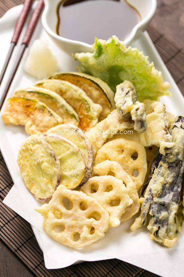 Vegetable Tempura   Easy Japanese Recipes at JustOneCookbook.com