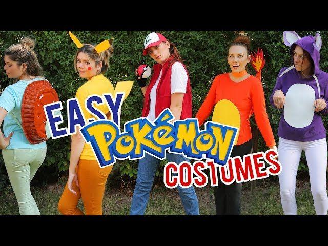 LAST MINUTE POKEMON HALLOWEEN COSTUMES - Video --> http://www.comics2film.com/last-minute-pokemon-halloween-costumes/  #Cosplay