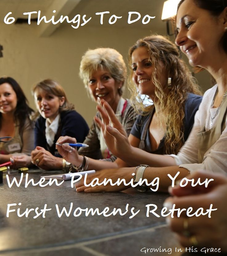 What do you do when the women's leader asks YOU to help organize the next women's retreat? Here are 6 tips to help you out.