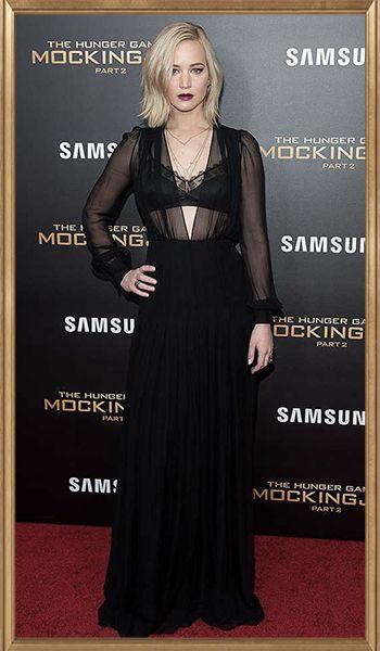 Όταν έρχεται η στιγμή για Hunger Games πρεμιέρες, ξέρουμε πολύ καλά ότι Jennifer Lawrence και Elizabeth Banks θα μας καθηλώσουν με όσα δοκιμάσουν στο κόκκινο χαλί της εκάστοτε κινηματογραφικής βραδιάς. Η Jen αυτή τη φορά στη Νέα Υόρκη ακολούθησε το dark & vampy look με μάξι, μαύρη τουαλέτα Schiaparelli, αφήνοντας σχεδόν αχτένιστα τα μαλλιά της με έναν ανεπαίσθητο κυματισμό και επιλέγοντας  σκουρόχρωμα, δαμασκηνί χείλη που τόσο την κολακεύουν! http://pressmedoll.gr/