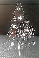 новогодние украшения, декоративная елка