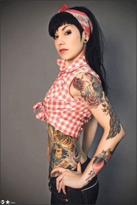 Rockabilly chic | lovely ink | Pinterest | Rockabilly ...