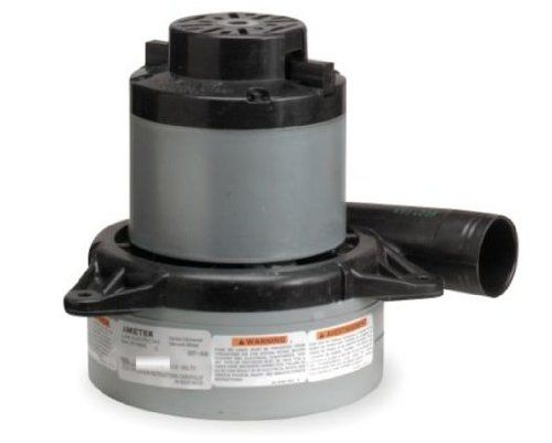 Ametek Lamb Vacuum Blower / Motor 240 Volts 117157-13 6.1 amps. 2 Stage; Tangential Discharge. 108.1 CFM. 7 11/16 Overall Height; 7.2 Diameter. Thermoset mounting brackets.  #Vacuum #Home_Improvement