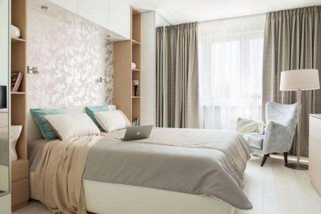Dormitor elegant amenajat