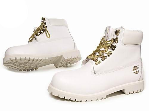 Men's Custom 6-Inch Premium Boot-White Gold
